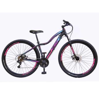 Bicicleta Aro 29 KSW MWZA 2020 Feminino 21v Freio a Disco