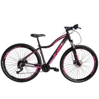Bicicleta Aro 29 KSW MWZA 2020 Feminina 27v Hidráulico K7