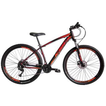 Bicicleta Aro 29 KSW XLT 18v Relação 2x9 Com K7