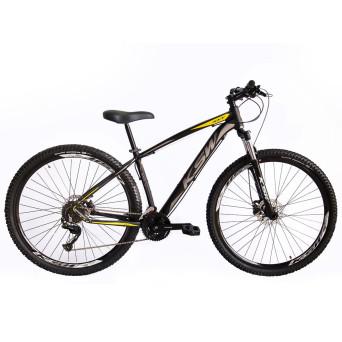 Bicicleta Aro 29 Ksw 18v Relação 2x9 e Cambio Shimano Alivio