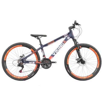 Bicicleta Aro 26 Viking TuffX30 Freeride Freio a Disco 21V